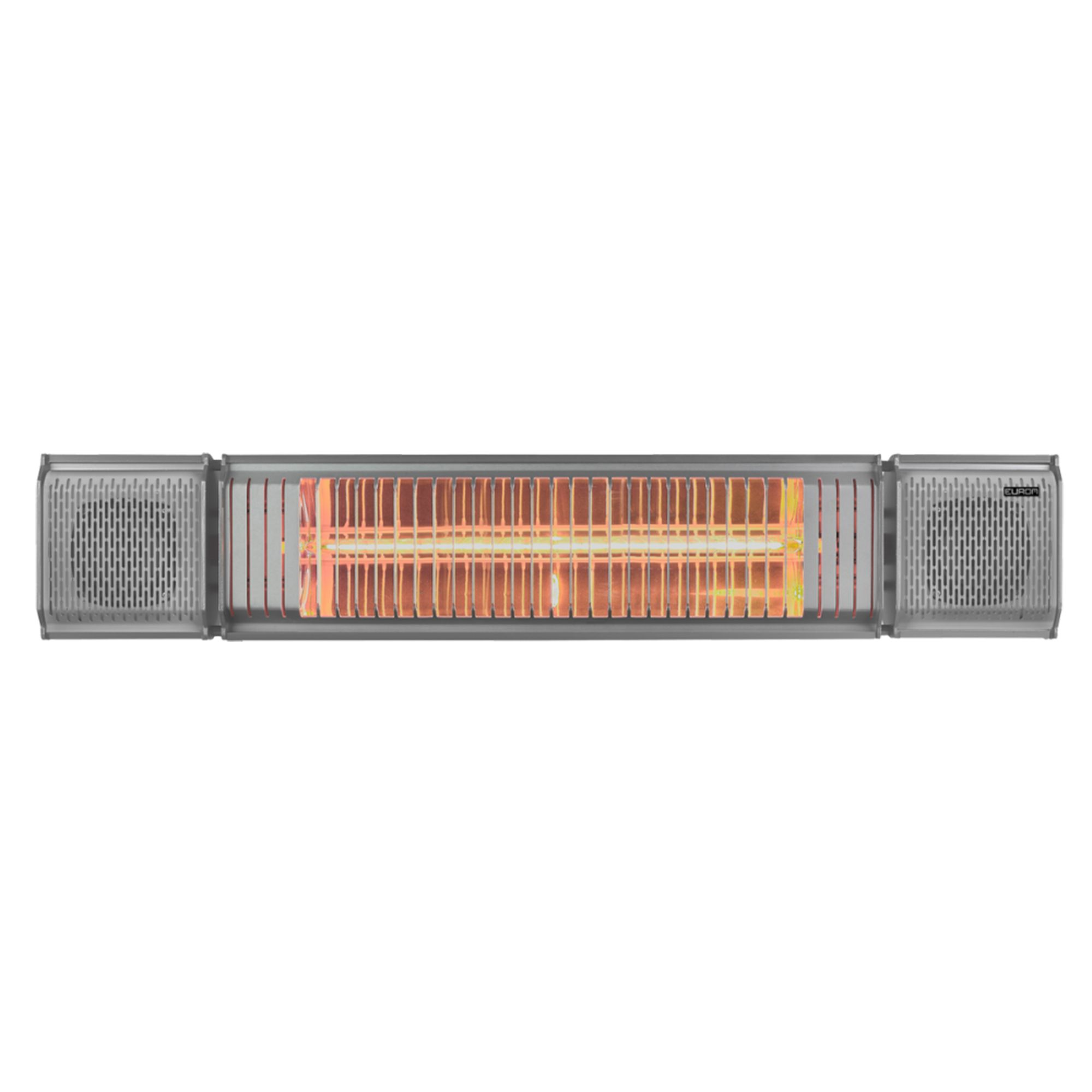 Shadow Heat And Beat 2kw Patio Heater With Bluetooth Speakers
